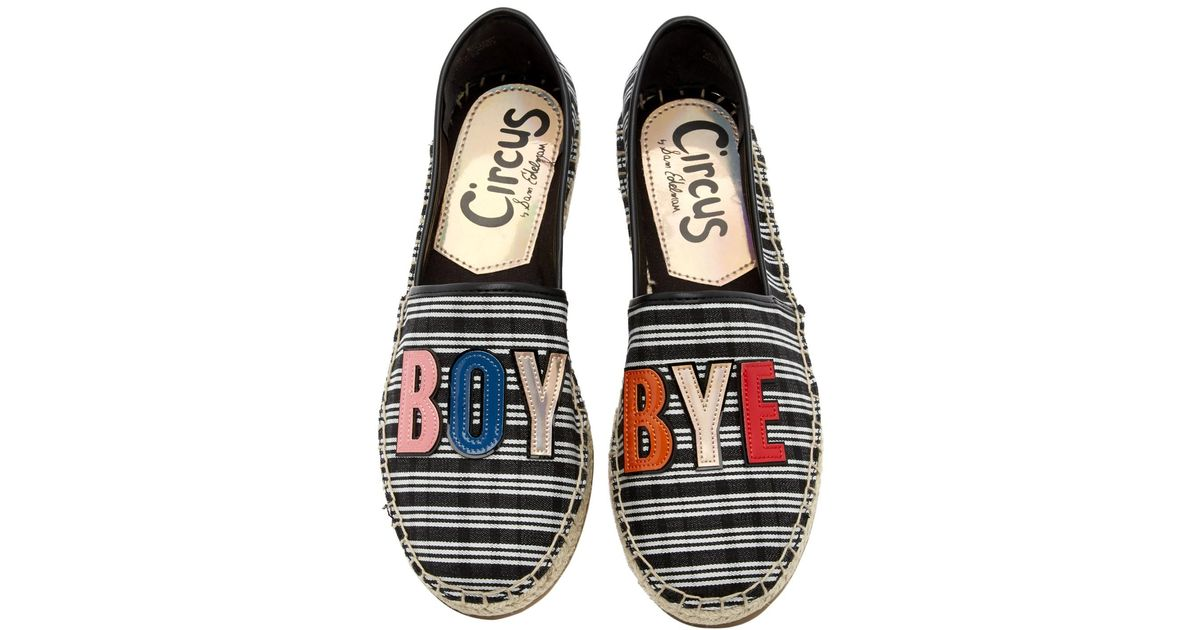 half price the sale of shoes details for Circus by Sam Edelman Multicolor Leni 'boy Bye' Flat