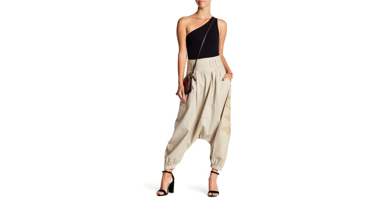 Desigual Pyjamahose Modell PANT TROUSER PAISLEY