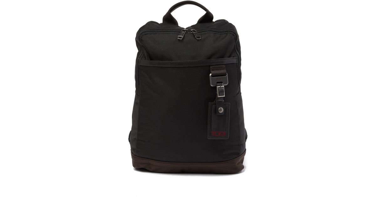26bab18727e6 Lyst - Tumi Westwood Slim Backpack in Black for Men