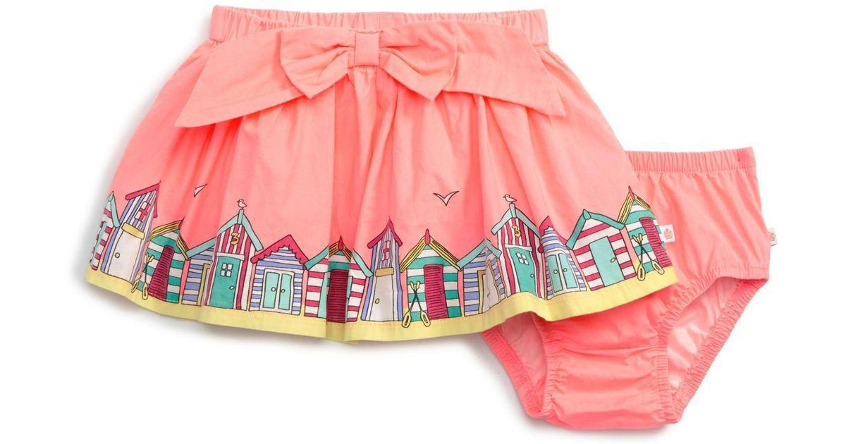 Rosie Pope Baby Girls Beach Hut Skirt