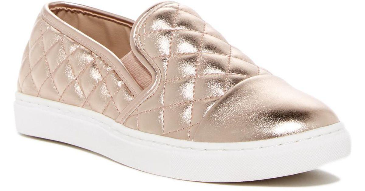 4bf6fb3cac0 Lyst - Steve Madden Zaander Slip-on Sneaker in Pink