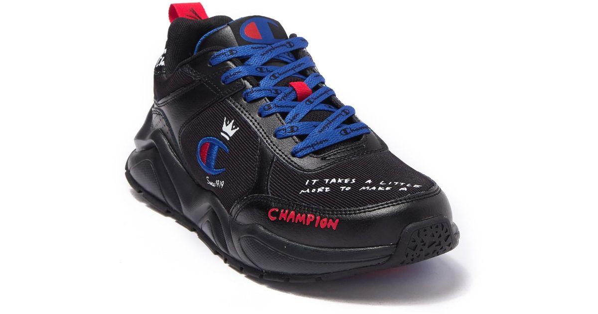 King Sneaker in Black for Men - Lyst