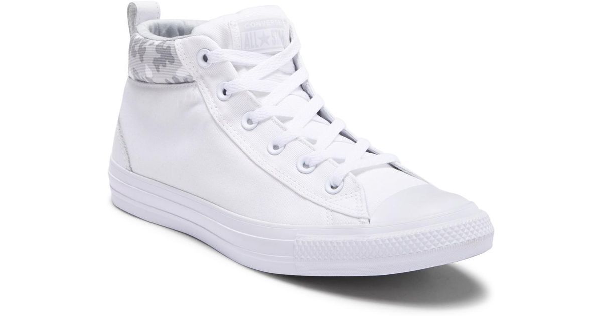 5c5d72f94c31 Lyst - Converse Chuck Taylor All Star Street Mid Sneaker (unisex) in White  for Men