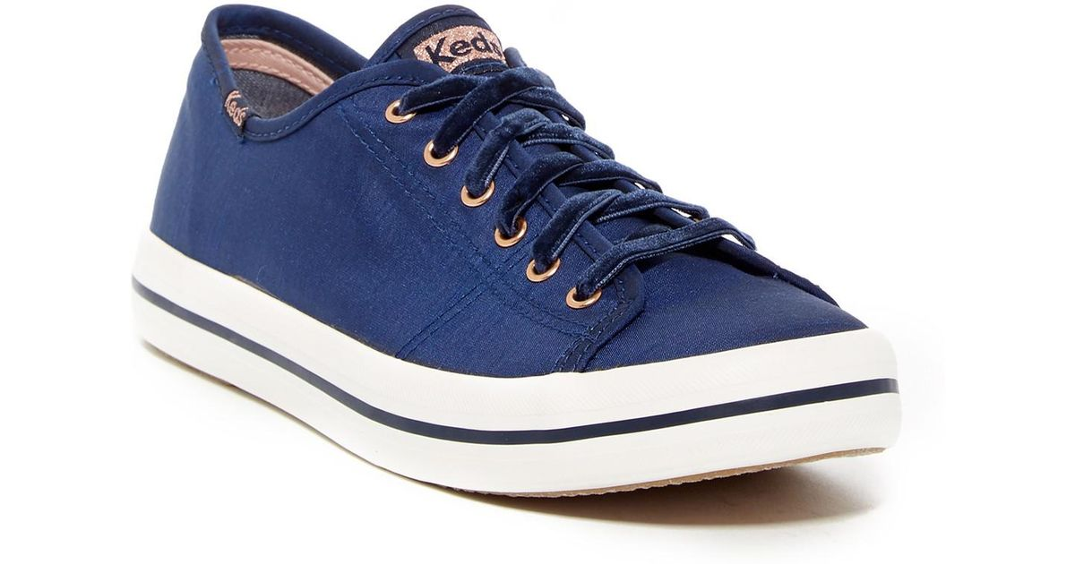 Keds Kickstart Slub Satin Sneaker - Wide Width Available GZVgtPhpT6