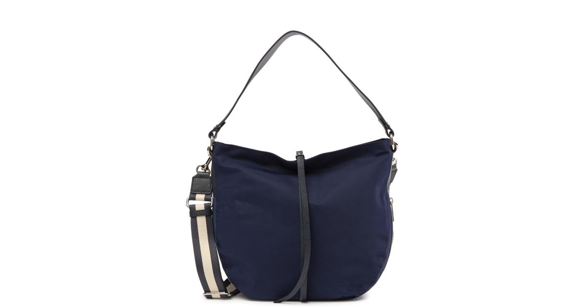 ec86f4b614cf Lyst - Lancaster Paris Dune Nylon Trench Shoulder Bag in Blue