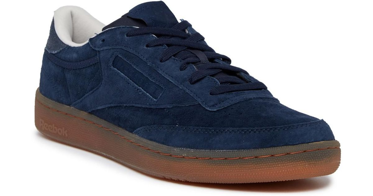 Lyst - Reebok Club 85 Indoor in Blue for Men - Save 63% 305c718a0