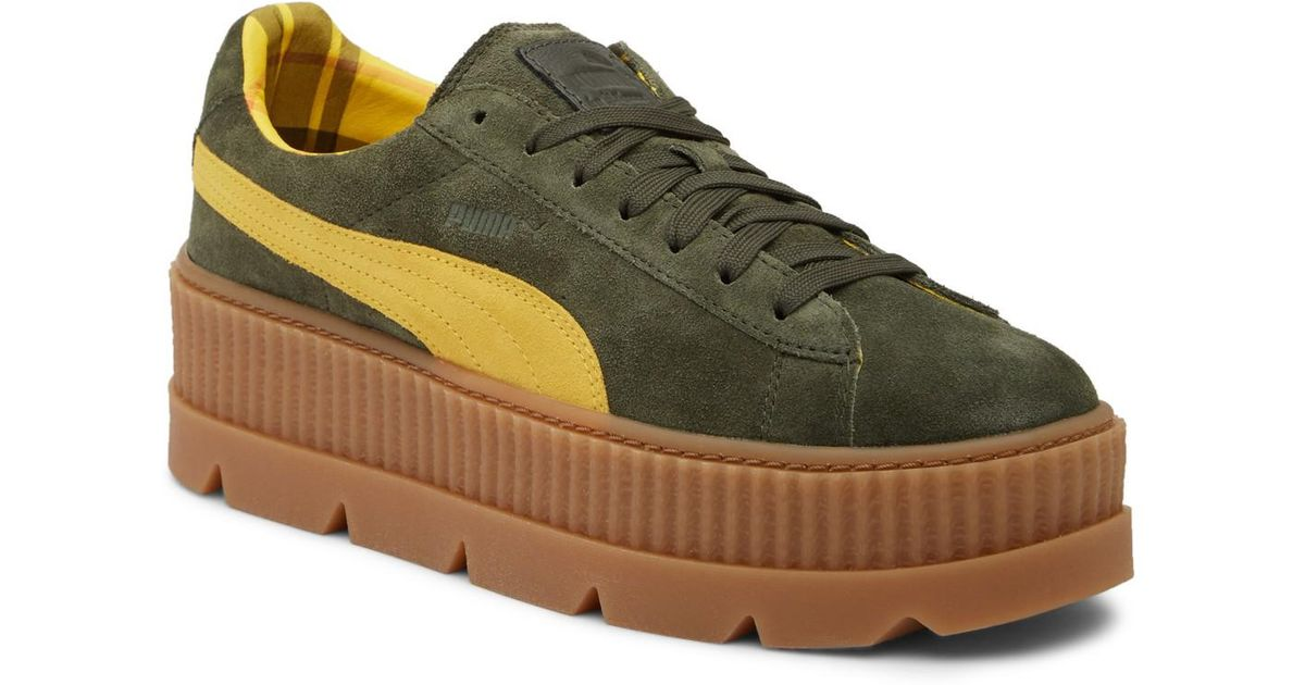 Platform Patent Leather Lyst Pointed Rihanna Sneaker By Puma wIAYg