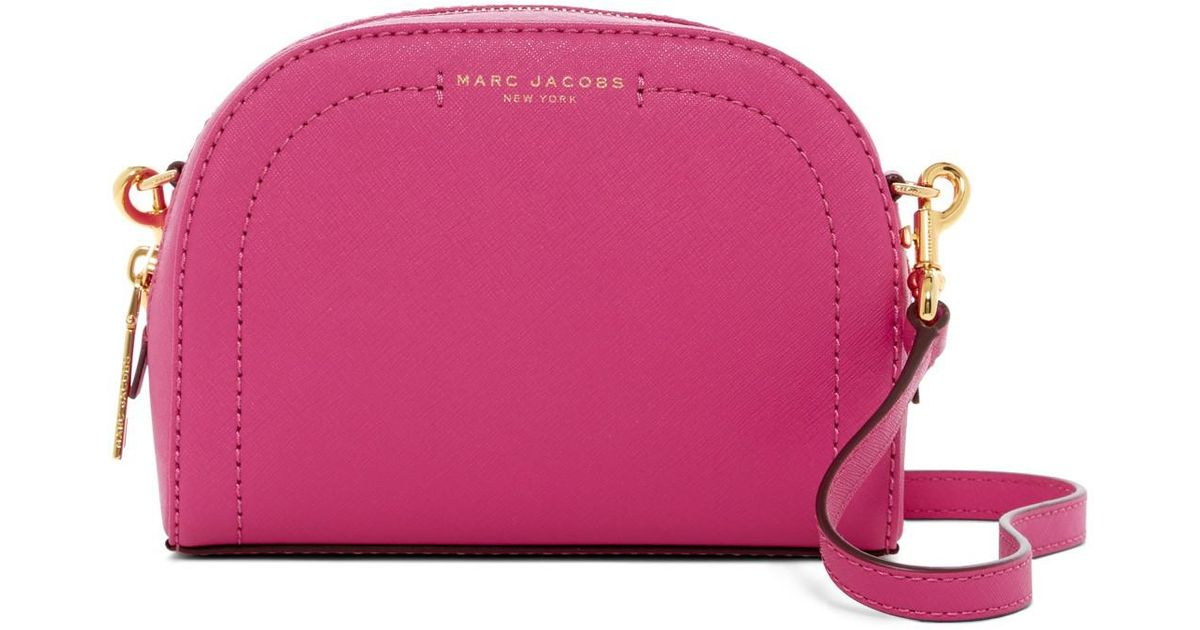 22a2d3b0c5b Marc Jacobs Pink Playback Leather Crossbody Bag