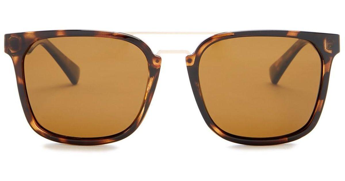 464a2af9b5de6 Cole Haan Browbar 54mm Sunglasses in Brown - Lyst