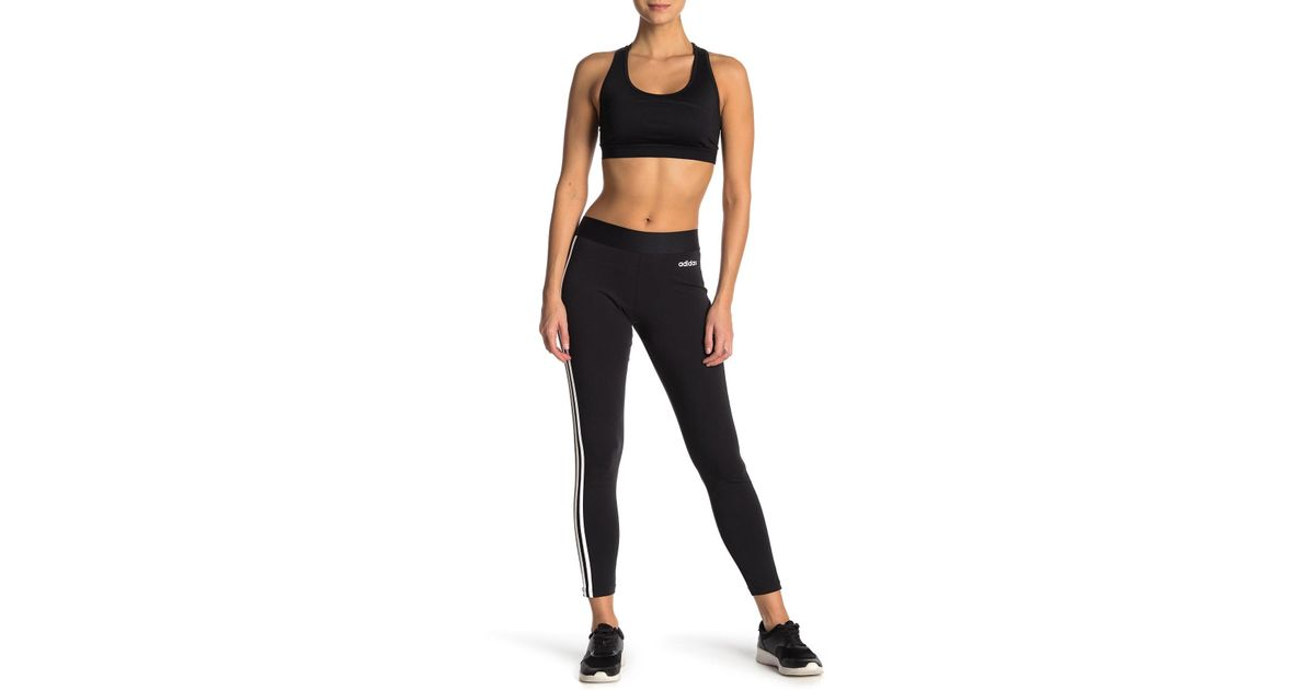 5b9340308a8 Lyst - adidas 3-stripes Tight in Black