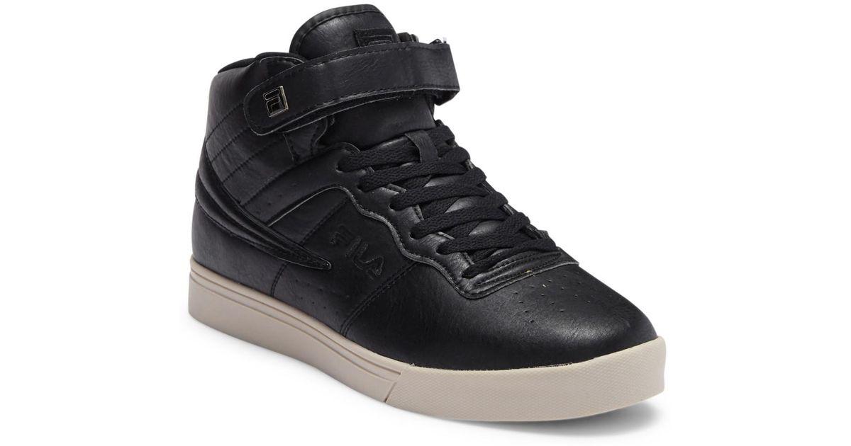 10fdd1fff24 Lyst - Fila Vulc 13 Distressed Sneaker in Black for Men