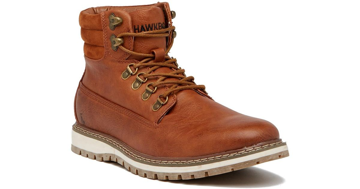 4f600f801fb Lyst - Hawke   Co. Raleigh Leather Boot in Brown for Men