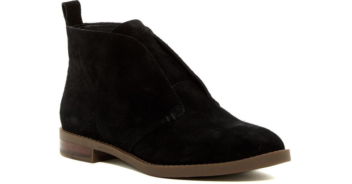 69fd56ef126 Lyst - Franco Sarto Ilena Chukka Ankle Boot - Wide Width Available in Black