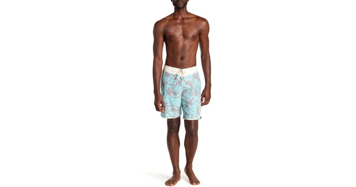 d37bcb71c5 Lyst - Imperial Motion Crossroads Board Shorts in Blue for Men