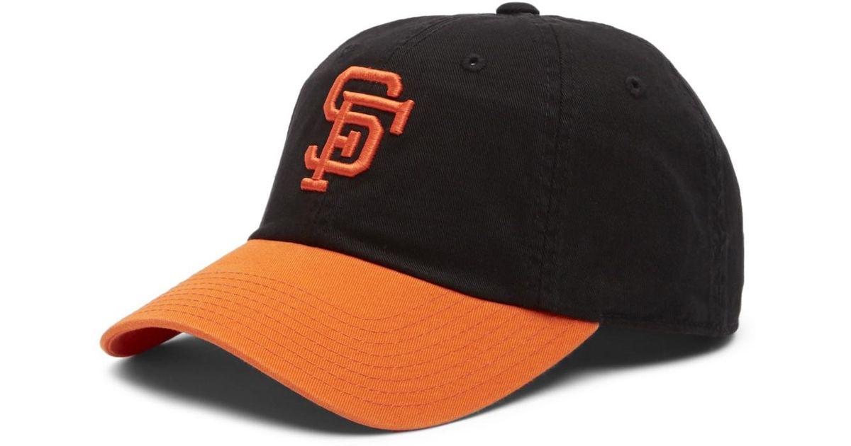 8fd02706e90 Lyst - American Needle Ballpark San Francisco Giants Baseball Cap in Black  for Men