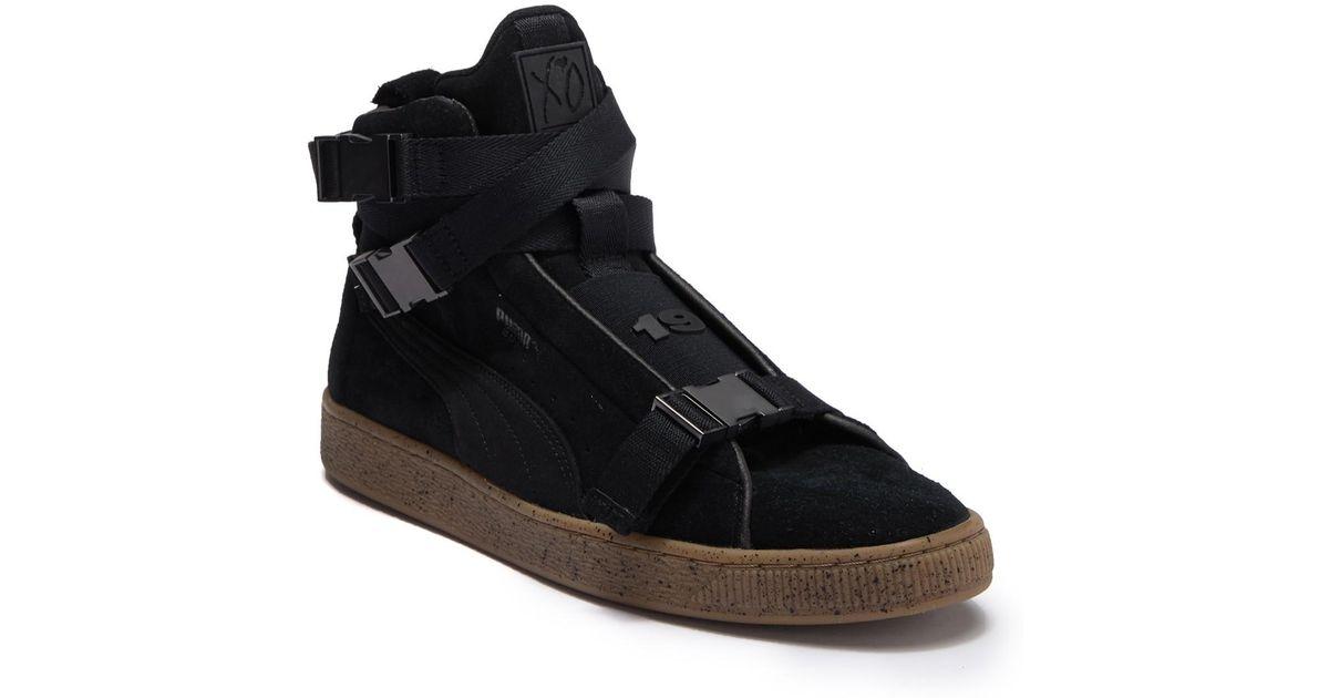 quality design 46087 c765f PUMA Black Suede Classic X Theweeknd for men