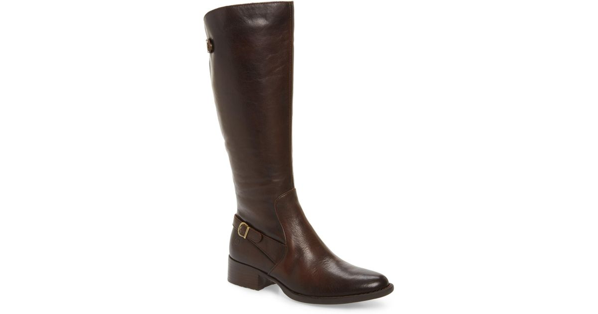 a34339b40cd1 Lyst - Born Cupra Tall Boot (women) (wide Calf) in Brown