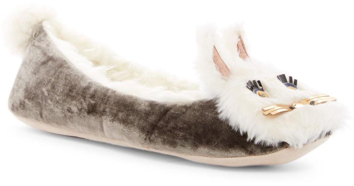 Kate Spade Stellina Faux Fur Bunny