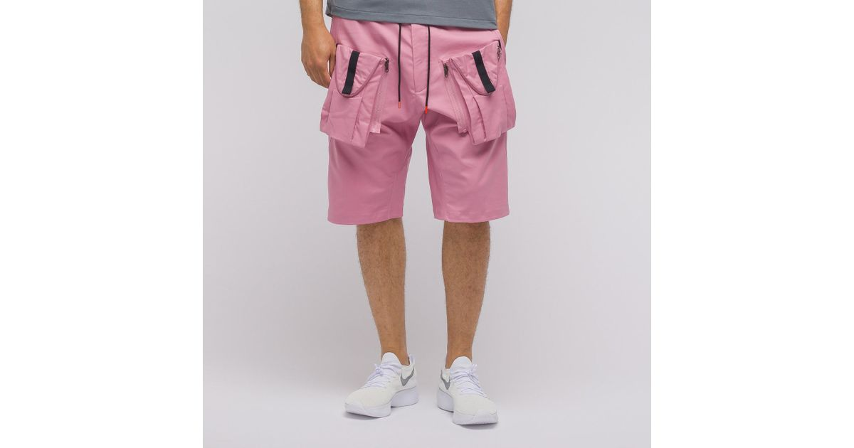 d206e4743a717 Nike Acg Deploy Cargo Shorts In Elemental Pink in Pink for Men - Lyst