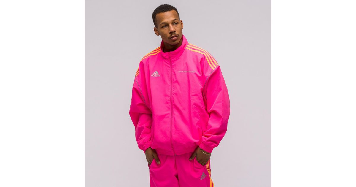 san francisco a4905 01bce Adidas Lyst In For X Pink Men Track Jacket Gosha Rubchinskiy