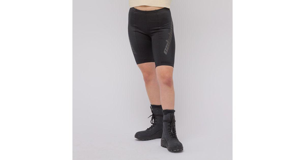 Seamed Bike Shorts In Ink Scorpio