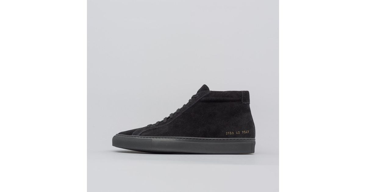 Common Projects Achilles Mid Suede In
