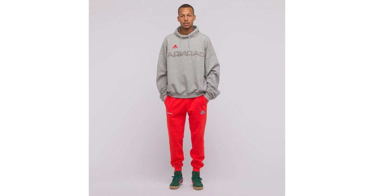 12abdaeb Gosha Rubchinskiy X Adidas Sweatpants In Red in Red for Men - Lyst