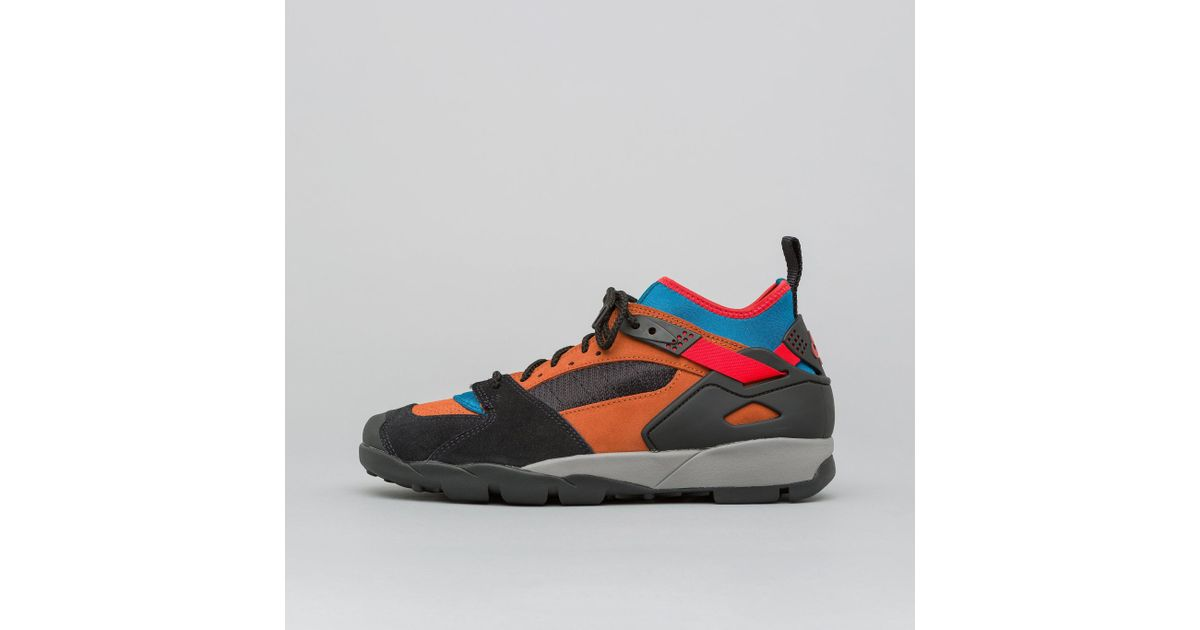 outlet store sale superior quality outlet Nike Air Revaderchi In Black/habanero Red/russet for men