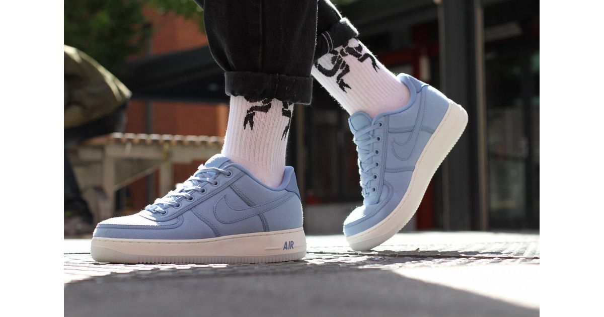Nike Air Force 1 Low Retro Qs Canvas in Blue for Men - Lyst b1cb69346