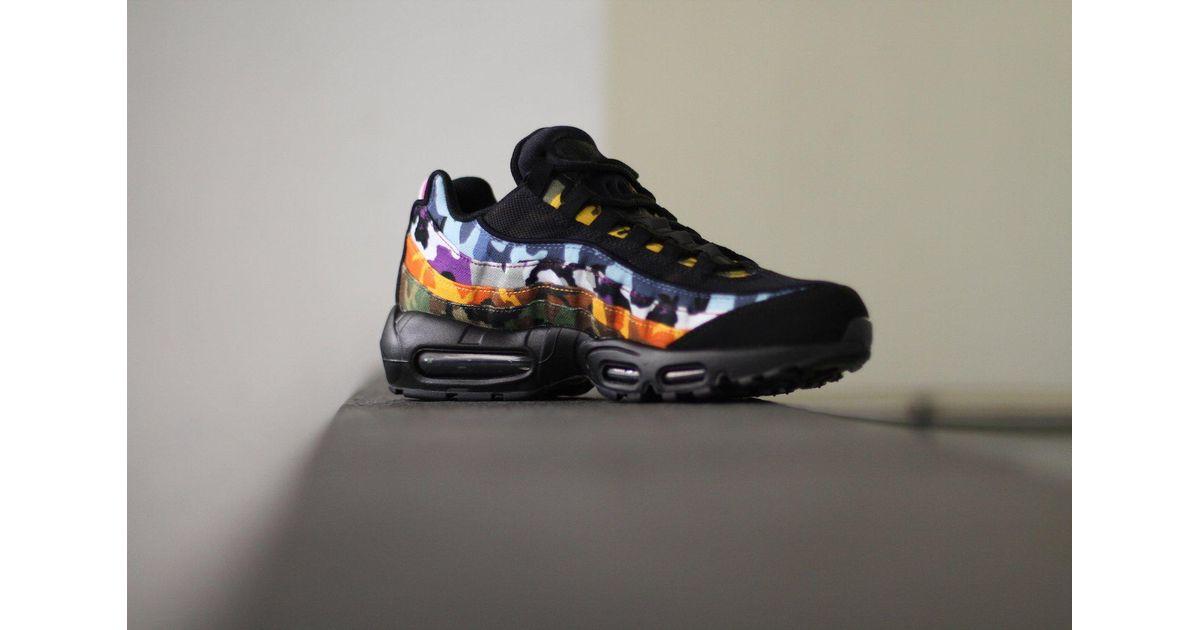 separation shoes dcc0e d3da8 Nike Black Air Max 95 Erdl Party for men