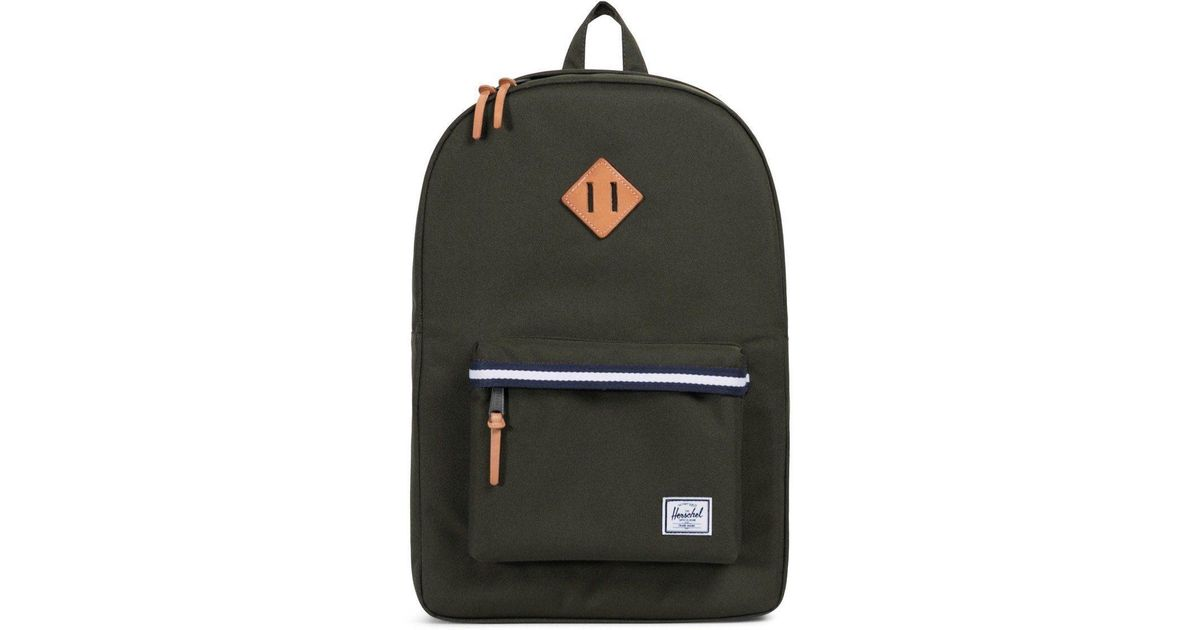 7b4506e862f Herschel Supply Co. Offset Heritage Backpack in Green - Lyst