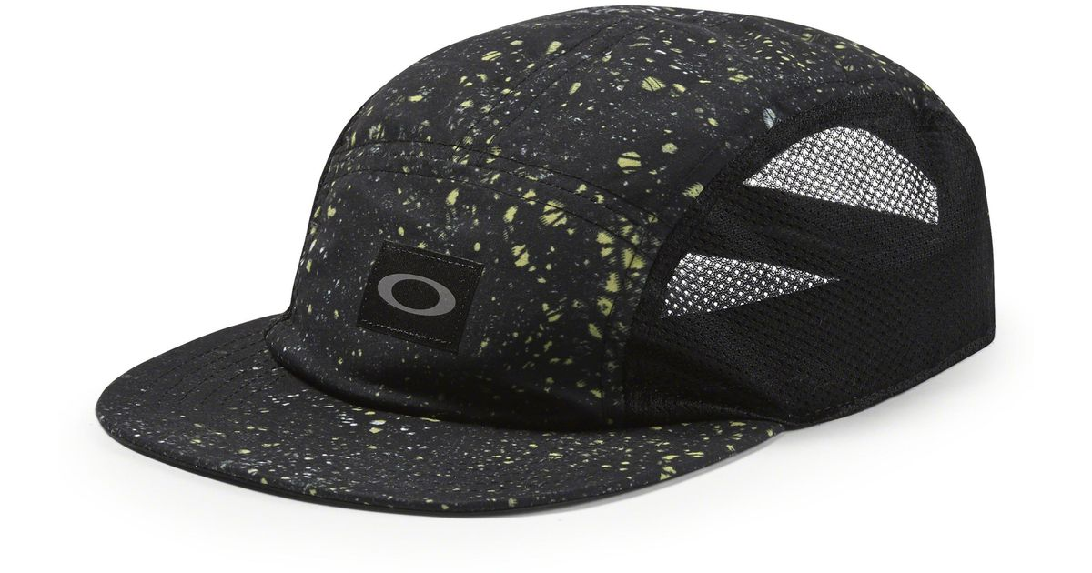 4bede3cdcaae4 ... discount code for lyst oakley womens 5 panel performance hat in black  ade2e 1cda7