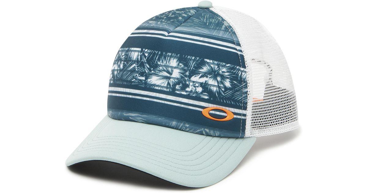 premium selection 86587 39b68 Oakley Mesh Sublimated Trucker Hat in Blue for Men - Lyst