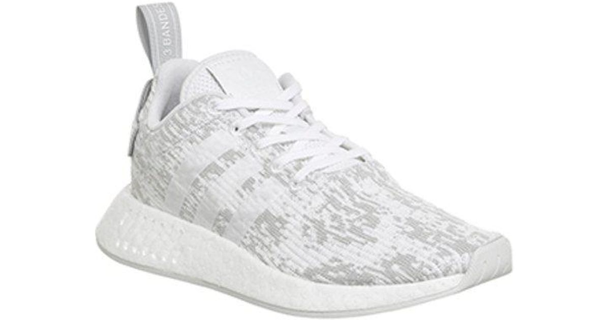 designer fashion 13d68 9a88d Adidas - White Nmd R2 - Lyst