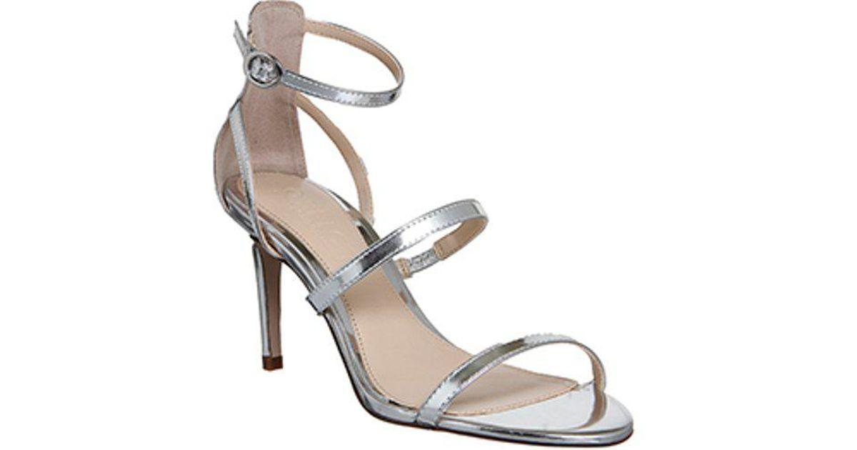 0c2384f305 Lyst - Office Marlow Single Sole Strappy Sandals in Metallic