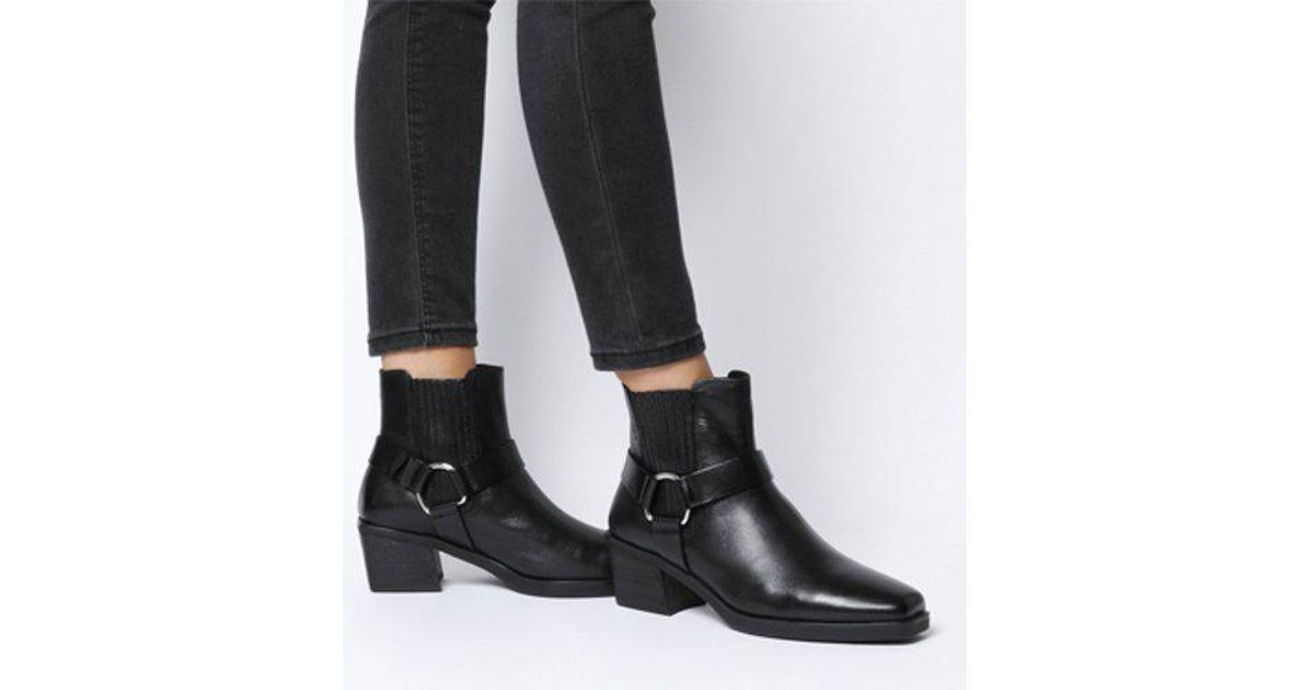 81c3f19d793 Vagabond Black Simone Harness Boot