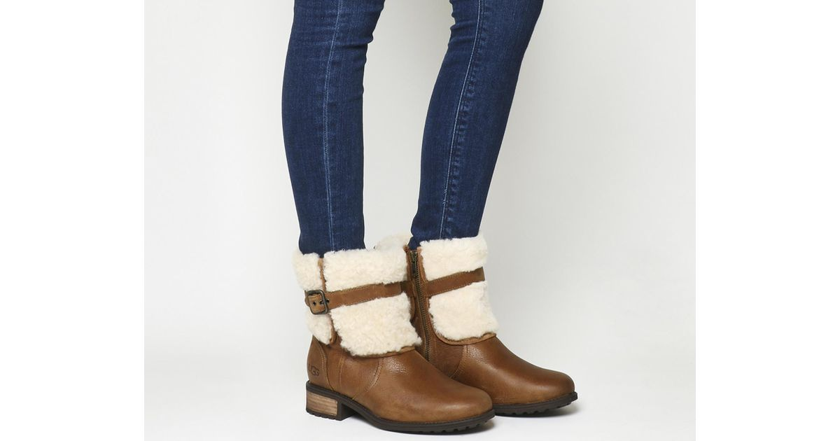 0a8be81dc24 Ugg Brown Blayre Ii Shearling Boots