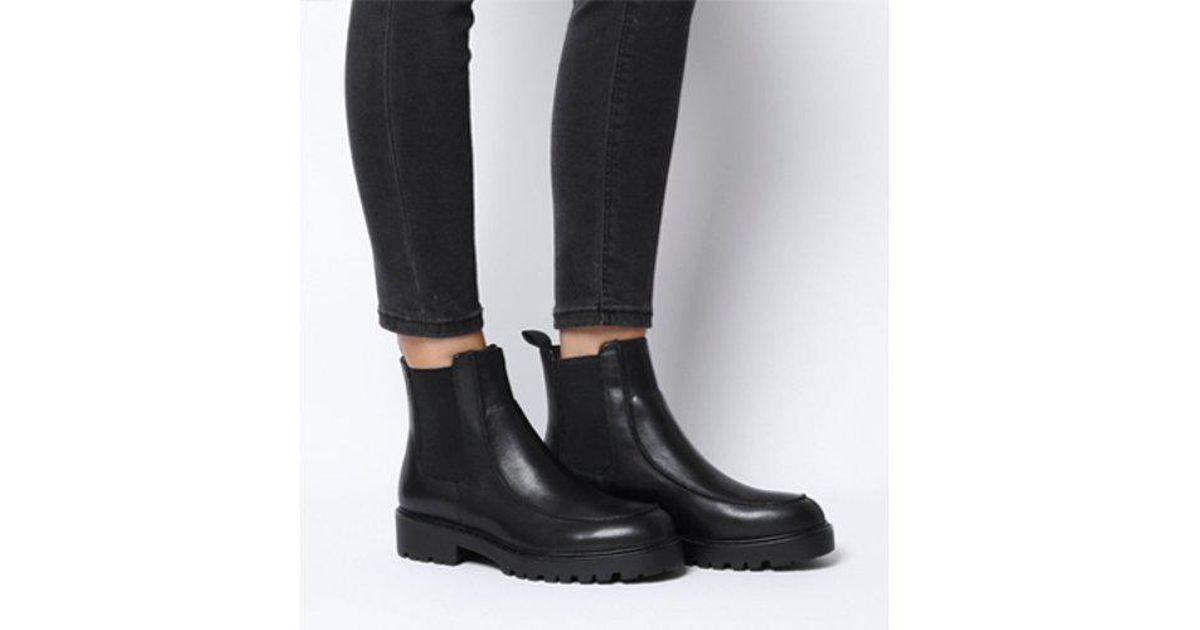 15868ecf50b Vagabond Black Kenova Apron Chelsea Boot