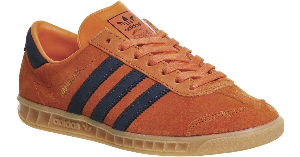 Adidas Originals Orange Hamburg for men