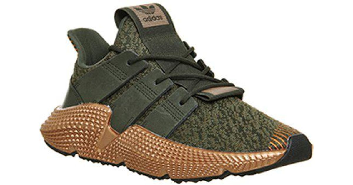 adidas Suede Prophere in Green - Lyst