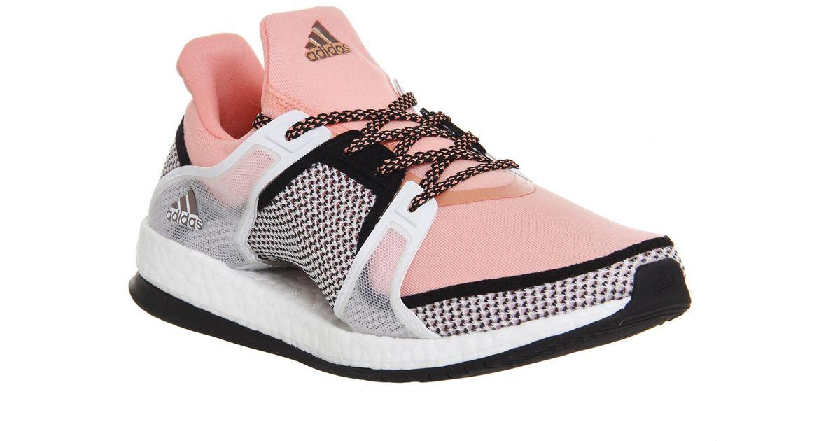 Lyst - adidas Originals Pure Boost X Tr in Pink 8c2e193f52c4