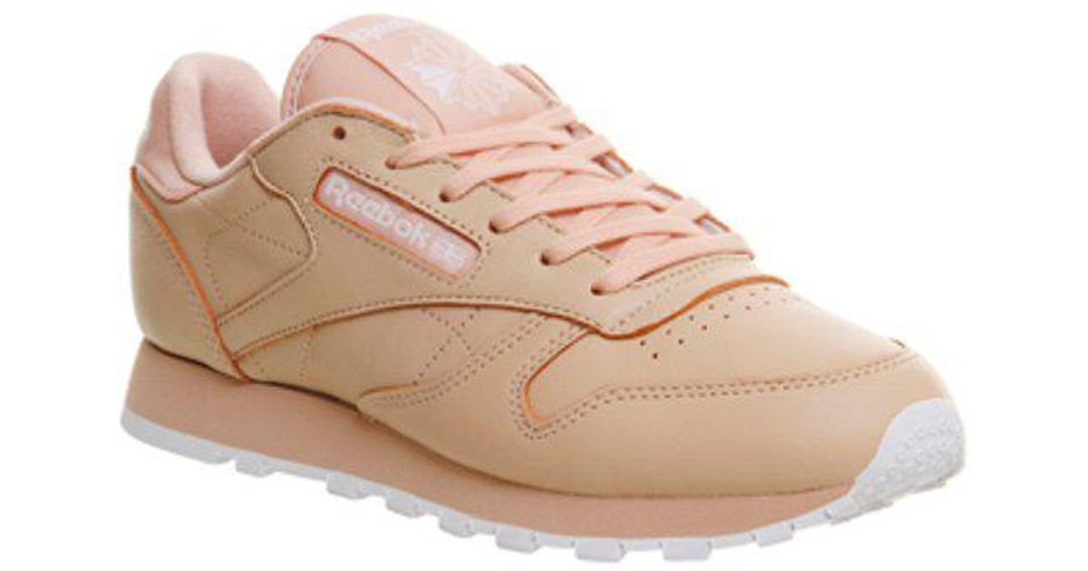 Reebok Classic Leather (w) in Pink - Lyst a29956490