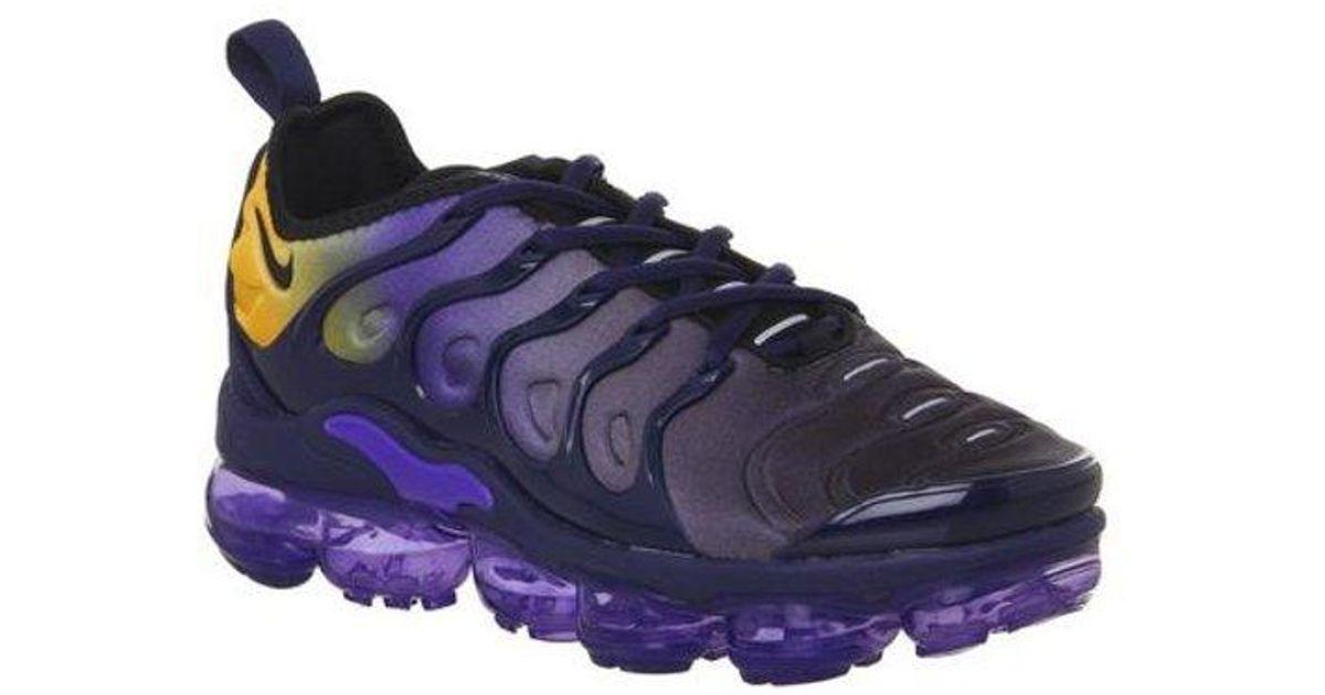 nike vapormax plus women's purple