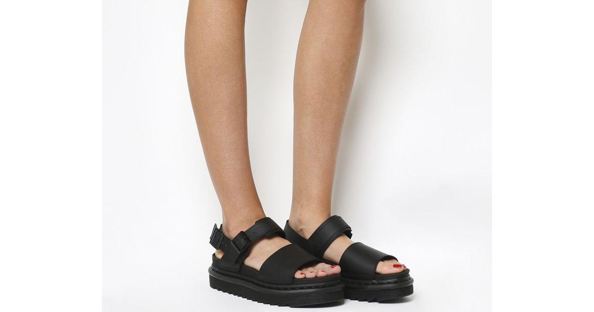 d195d365641ef Dr. Martens Black Voss Sandals