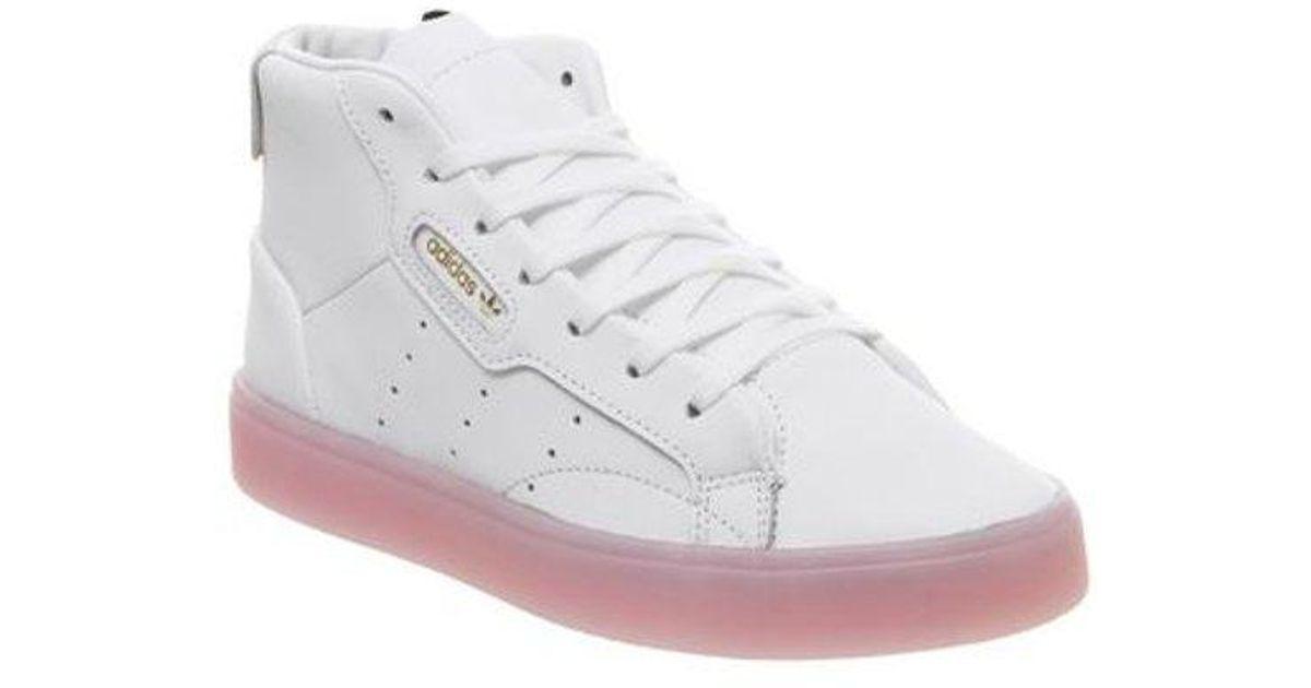 adidas Sleek Shoes | Adidas mid tops, Adidas, Adidas sneakers