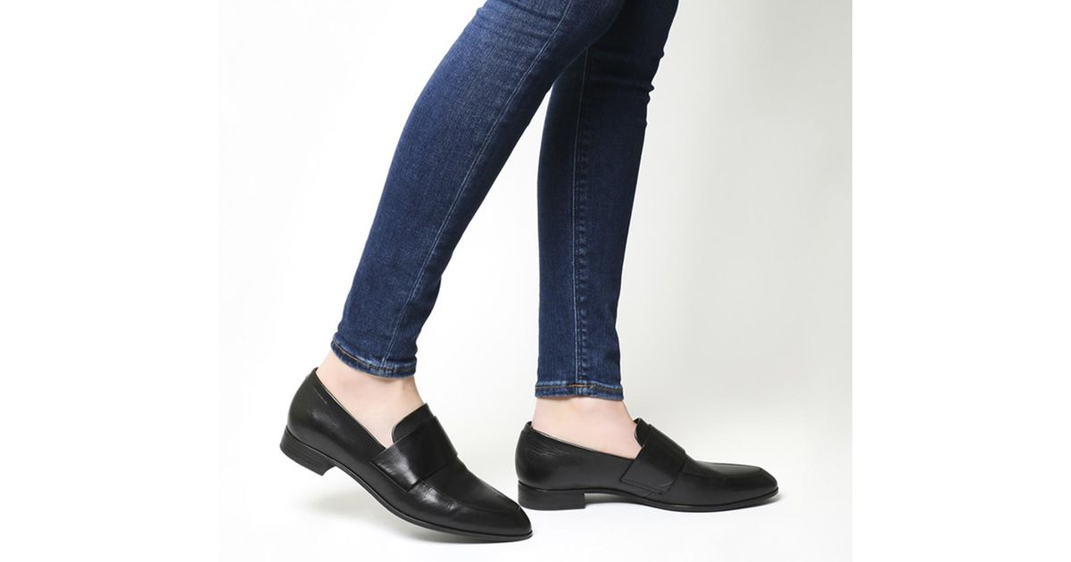 Vagabond Leather Frances Loafers in