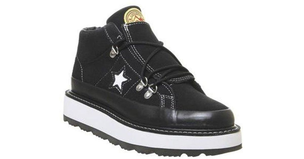Converse One Star Fleece Lined Boot in