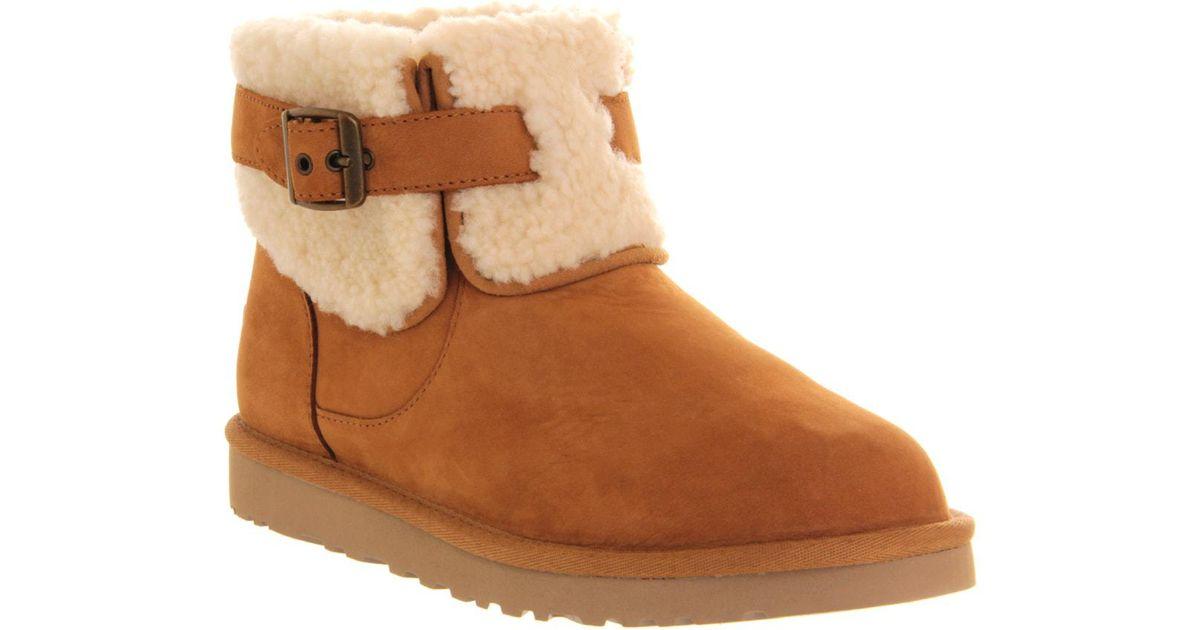 6751893062e Ugg Brown Jocelin Short Suede Boots - For Women