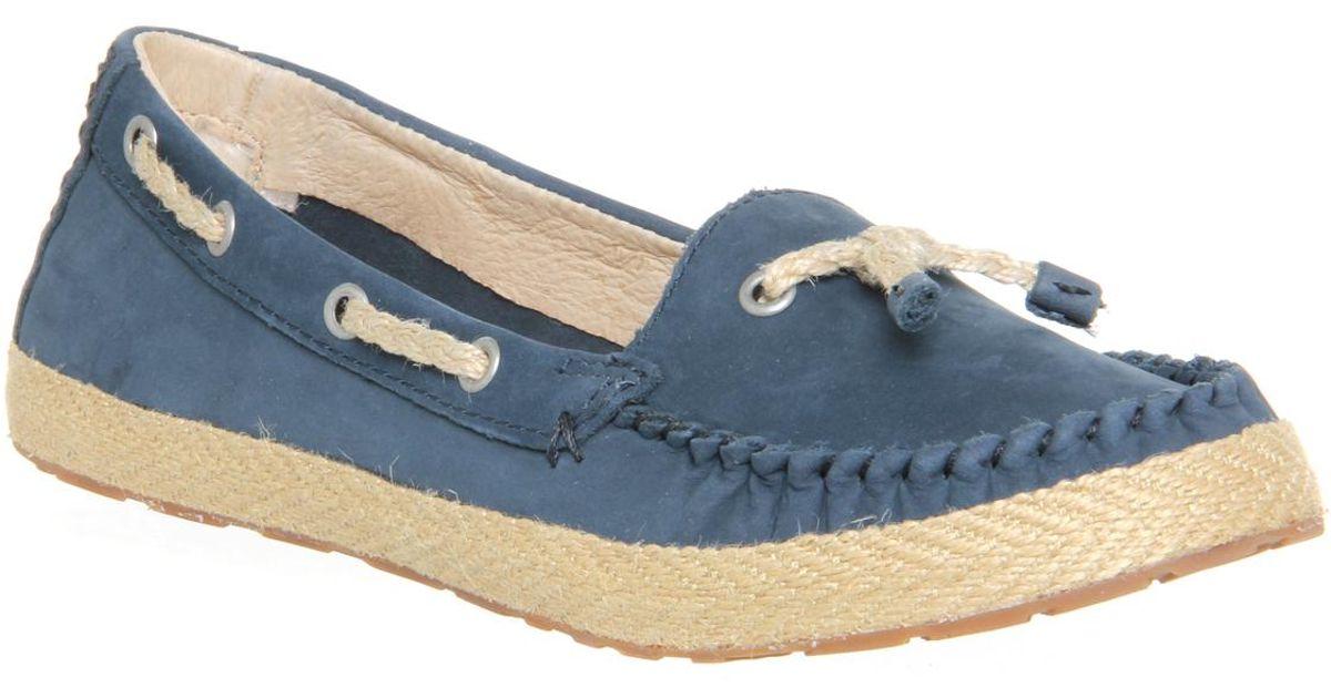 UGG Chivon Slip On in Navy (Blue) - Lyst