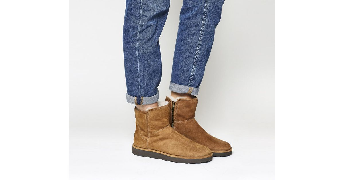 Office UGG Classic Lux Abree Short CHESTNUT SUEDE Outlet Finishline Footlocker Cheap Online Cheap Low Cost Outlet Fake Outlet Store OB1SLIUB